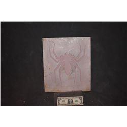 SPIDER-MAN 1 2 & 3 BACK SPIDER GLYPGH ORIGINAL ADI ALUMINUM MOLD 2