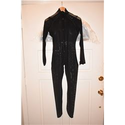 SPIDER-MAN 1 2 & 3 HERO TOBEY MAGUIRE MUSCLE SUIT MESH WITH ZIPPERS 1