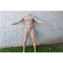 SPIDER-MAN 1 2 & 3 PRODUCTION FULL BODY CASTING USED TO SCULPT MUSCLES AND FIT SUITS