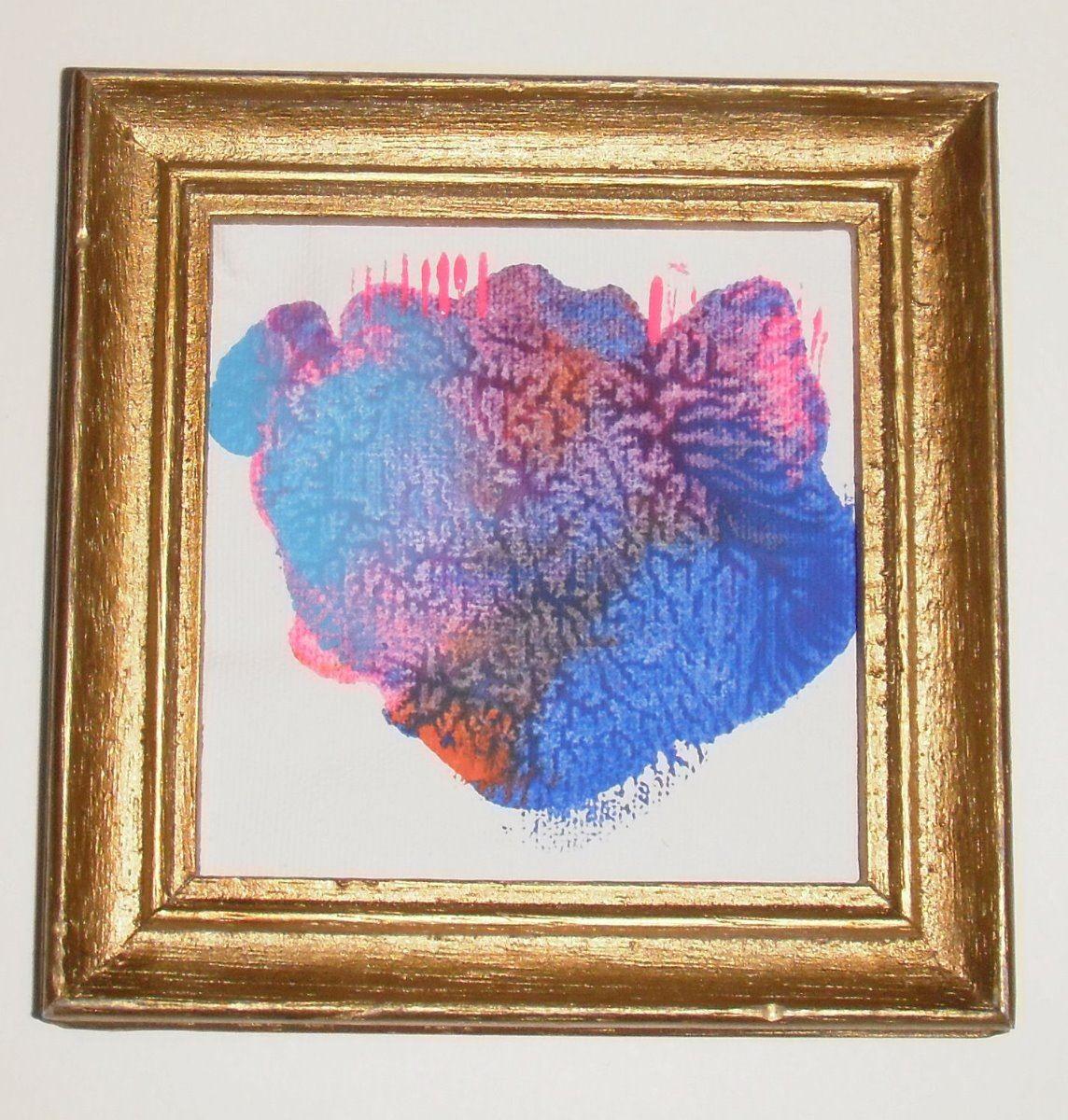 Original Painting Langdonart Pink Blue Trees Peinture Originale Par Langdonart Arbres Roses Bleu