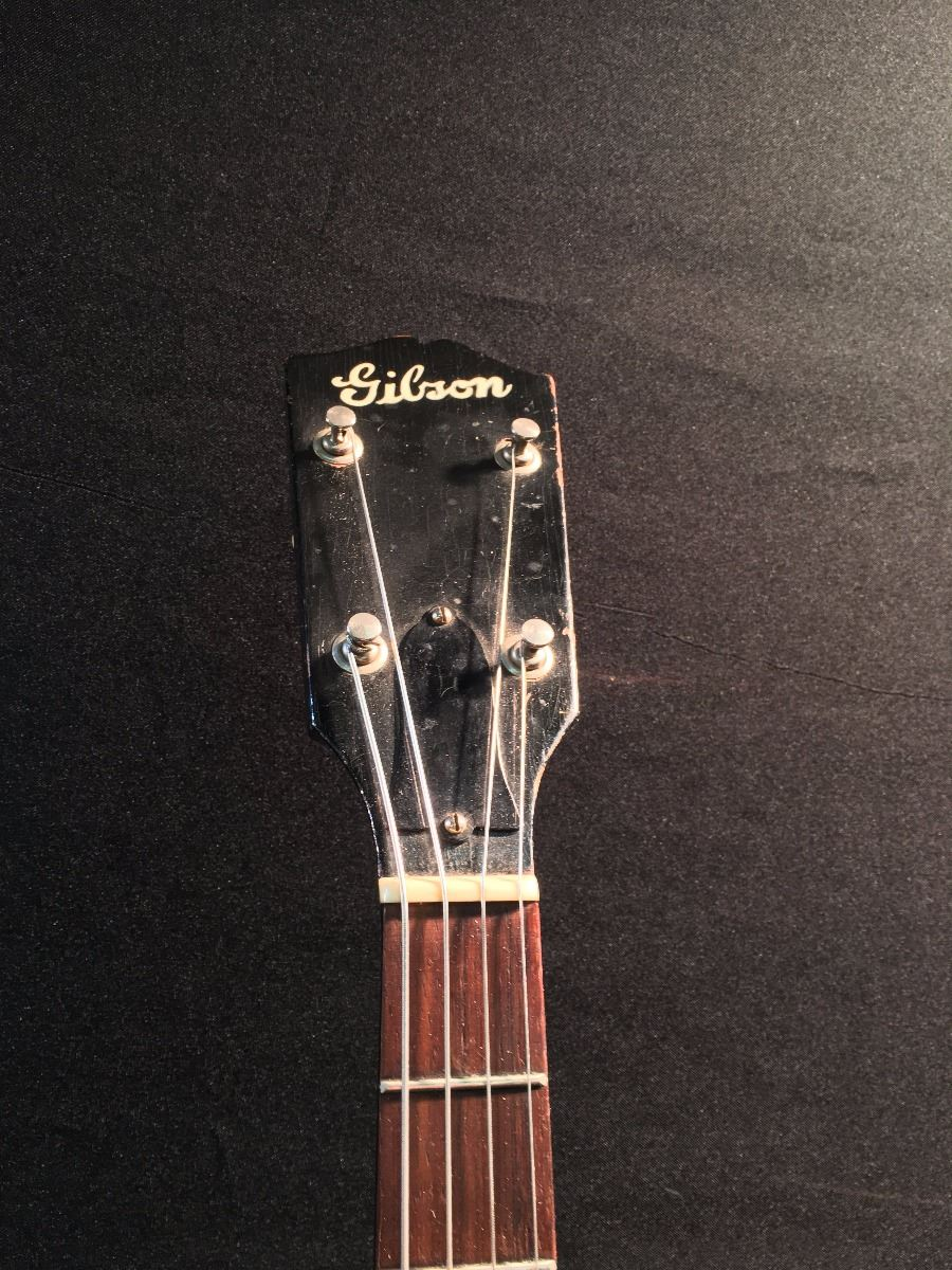 GIBSON 4 STRING TENOR ACOUSTIC/ELECTRIC GUITAR, EXTREMELY