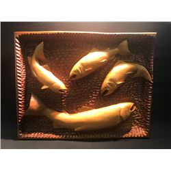MUSEUM QUALITY SOLID WOOD CARVING BY QUALICUM BEACH ARTIST PAUL BOURBEAU