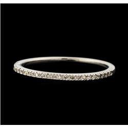 0.16 ctw Diamond Ring - 10KT White Gold