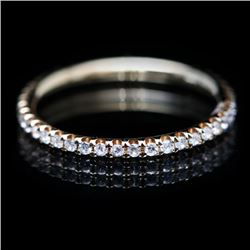 18K Yellow Gold Diamond Eternity Ring