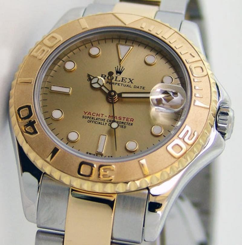 Preowned Rolex Yacht Master Stainless 168623