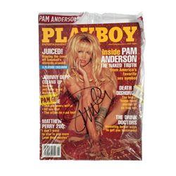 Pamela Anderson Signed Playboy Magazine