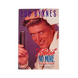 Edd Byrnes  Kookie  Autographed Hardcover Book Movie Props
