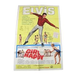 Girl Happy Original Release Theatrical Poster 1965