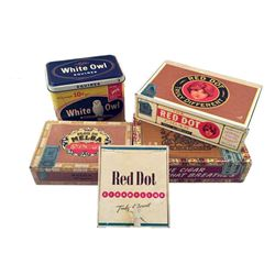 The Age of Adaline William Jones (Harrison Ford) Cigar Boxes Movie Props
