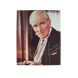 Desmond Llewelyn Autographed Photo Movie Memorabilia