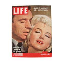 Marilyn Monroe Life Magazine