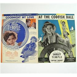 Shirley Temple Sheet Music