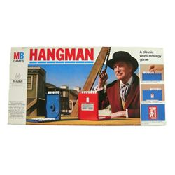 Hangman Board Game 1976 Vincent Price Photo Cover