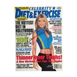 Baywatch's Donna D'Errico In-Person Signed Celebrity Diet & Exercise magazine