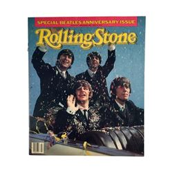 Beatles Rolling Stone Magazine Beatles Anniversary Issue Cover B