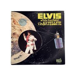 Elvis Presley Aloha From Hawaii VG+ Quadra Disc Two Record Set