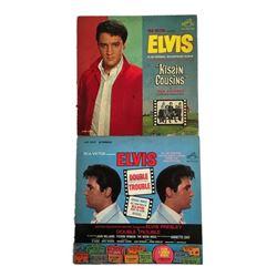lvis Presley 1960s Soundtrack Record Albums Kissin' Cousins and Double Trouble