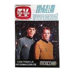 Star Trek TV Guide 1968 Featuring Leonard Nimoy and William Shatner