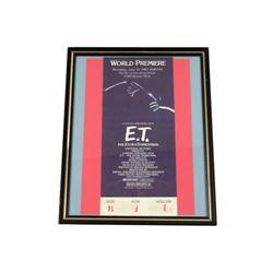 ET World Premiere Original Ticket