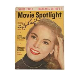 Janet Leigh Signed Movie Spotlight Magazine