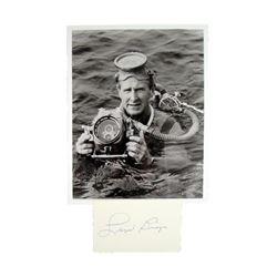 Lloyd Bridges Autographed Photo Movie Memorabilia