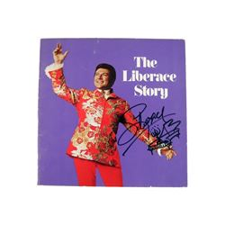 Liberace Autographed Story Booklet Movie Collectibles
