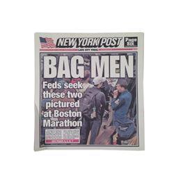 Patriots Day New York Post Newspaper