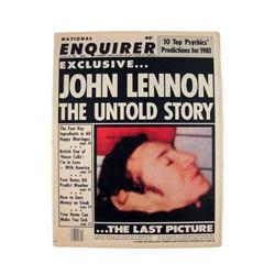 John Lennon Death Issue National Enquirer