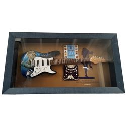 Jethro Tull Signed Guitar Framed