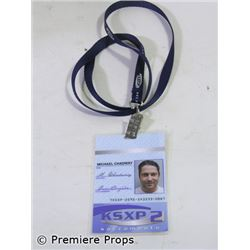 The Ugly Truth Mike Chadway's (Gerard Butler) Name Badge/Lanyard Movie Props