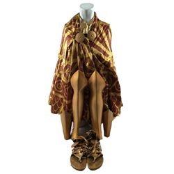 Immortals Athena (Isabel Lucas) Movie Costumes