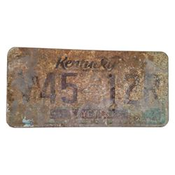 Resident Evil The Final Chapter License Plate Movie Props