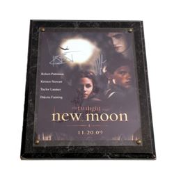 Twilight New Moon Autographed Plaque