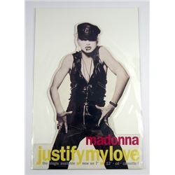 Madonna 1990 Justify My Love Promo Stand-Up