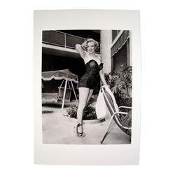 Marilyn Monroe Posing In Swimsuit Photo