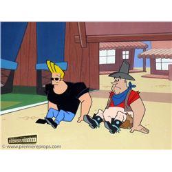 Johnny Bravo Original Animation Cel