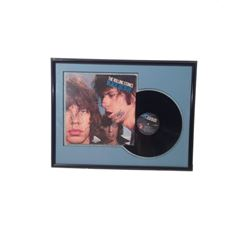 "The Rolling Stones ""Black and Blue"" Album Signed & Framed"