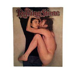 Beatles Rolling Stone Magazine John Lennon & Yoko Ono Famous Nude Cover