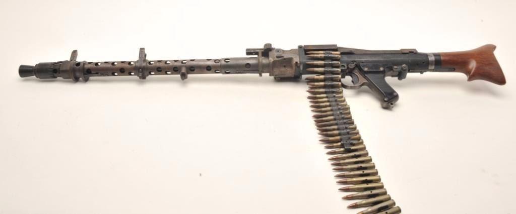 German MG 34 prop gun  A non-firing replica of the famous