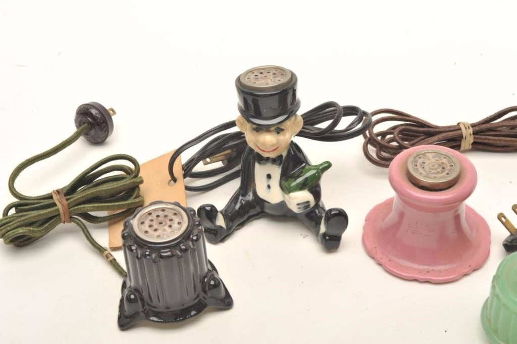 Strange Lot Of Vintage And Collectible Electric Table Cigarette Interior Design Ideas Gentotryabchikinfo