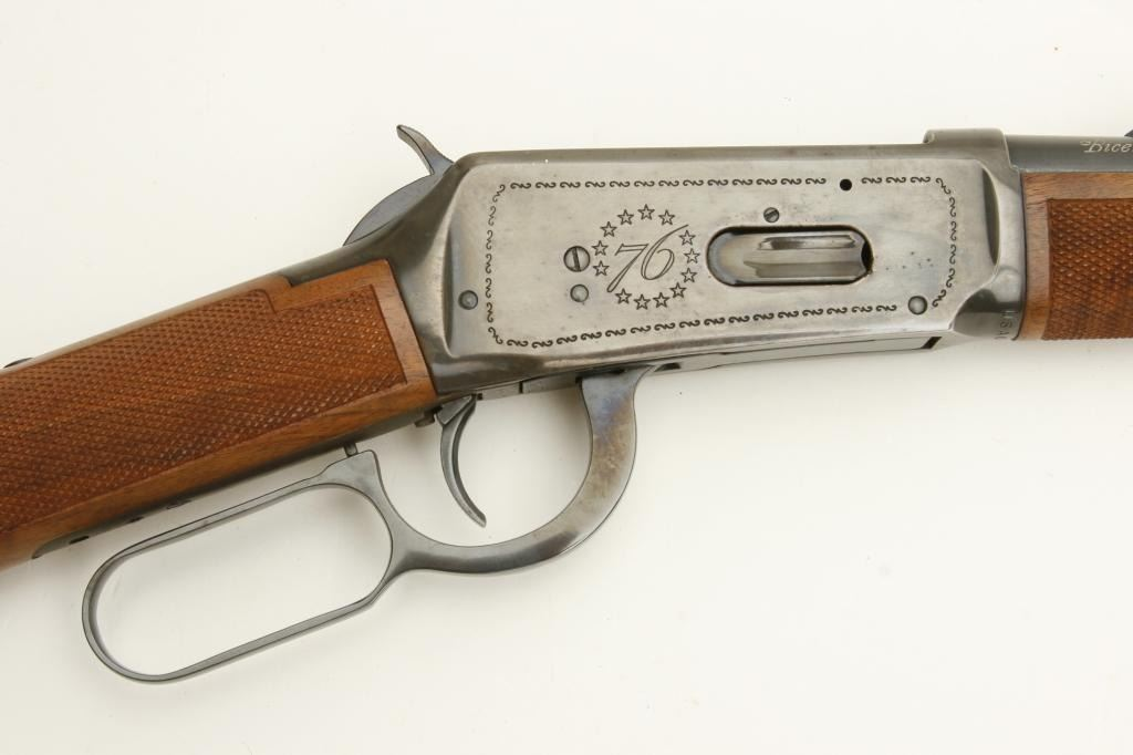Winchester Bicentennial Model 94 Lever Action Saddle Ring