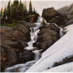 """Glacier Runoff"" by Crystal Oftedahl Johnson"