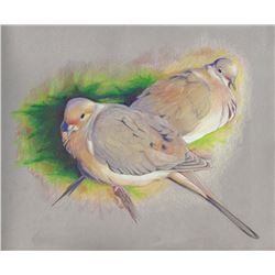 """Mourning Dove Pair"" by Pam Little"