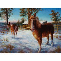 """Soul Portrait of a Belgian Draft Horse"" by Katherine Taylor"