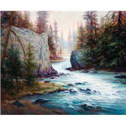 """Flow, Benham Falls"" by Katherine Taylor"