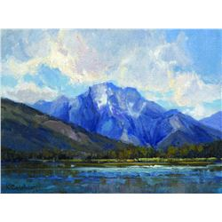 """Jenny Lake Study"" by Kim Casebeer"