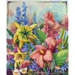 Susan's Garden  by Nancy Dunlop Cawdrey