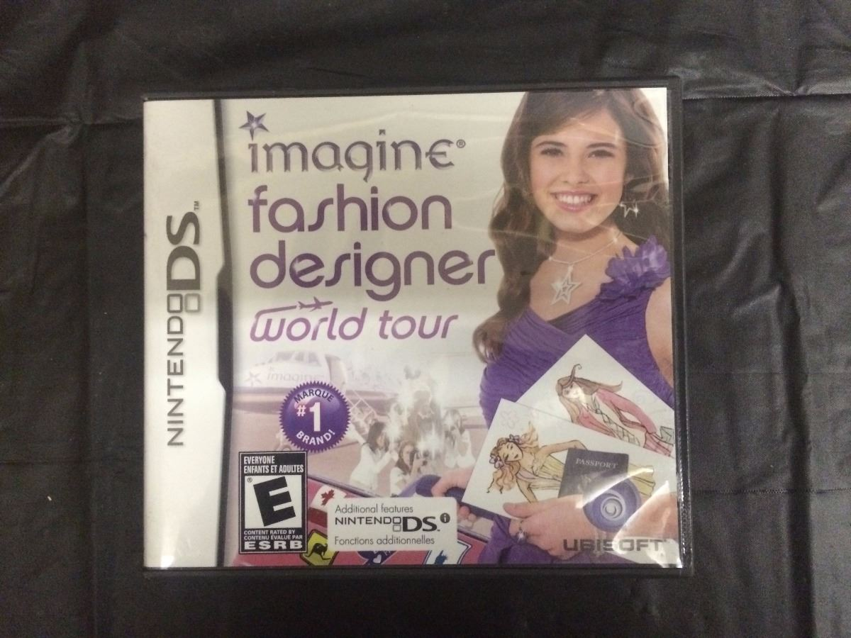 Nintendo Ds Imagine Fashion Designer World Tour Video Game