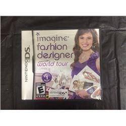 Nintendo Ds Imagine Fashion Designer World Tour Video Game