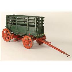 Miniature Vintage Wagon